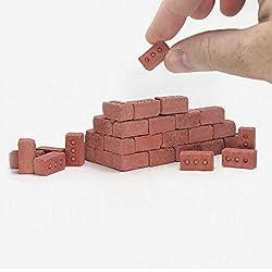 Fxbar,New 32Pcs Mini Cement Cinder Bricks Brick Model Building Dollhouse for Kids Mini Cement Cinder Bricks from Fxbar