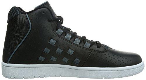 Jordan Nike Mens Illusion Basket Chaussure Noir / Bleu Graphite / Noir