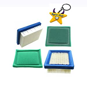 Race-Guy 2x Air Filter For Tecumseh OH95 OH195 OHH50-OHH65 VLV50 VLV55 VLV60 VLV65 VLV66 VLXL50 VLVXL55 VLV126 (2)