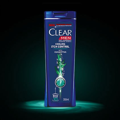 Clear Shampoo ANTI-DANDRUFF Active Sport 2 in1 Long Lasting Freshness 400Ml/13.52Oz (Active Sport 2 in1, 1X400Ml/13.52Oz)