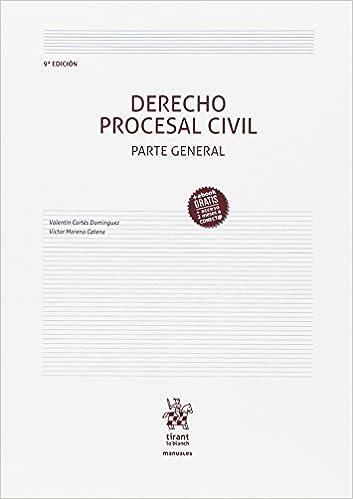 Derecho Procesal Civil Parte General 9ª Edición 2017 por Victor Moreno Catena epub