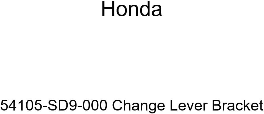 Genuine Honda 54105-SD9-000 Change Lever Bracket