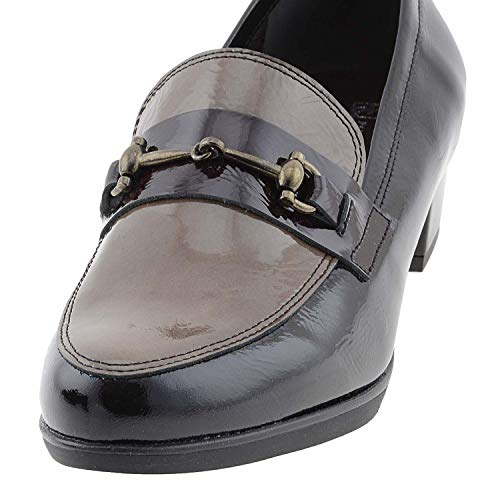 Piel Piel Piel Zapatos Zapatos Negro Charol Zapatos Negro Charol Charol Negro pqSY8