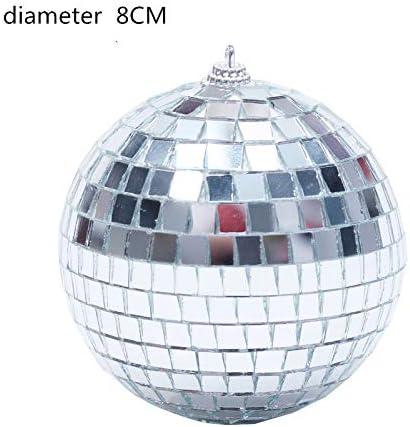 NIBESSER Boule Disco de Commande Vocale Boule /à Facette Jeux de Lumiere Lampe de Sc/ène Contr/ôle Automatique Lampe Disco pour F/ête