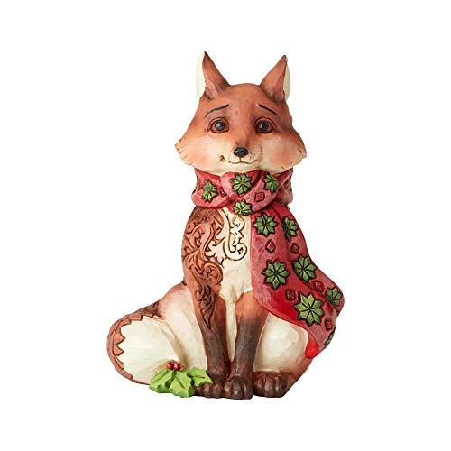 (Enesco Jim Shore Heartwood Creek Winter Wonderland Fox)