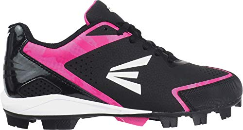 ef3b81599630 Easton Women's 360 Instinct Rubber Low Softball Cleats - Black/White/Pink  Camo