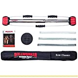 Bullworker 36'' Bow Classic -Full Body Workout- Portable Home Gym Isometric Exercise Equipment for Fast Strength Training Gains. Cross Training Fitness; Chest, Back, Arms, and Abs Exercise Machine