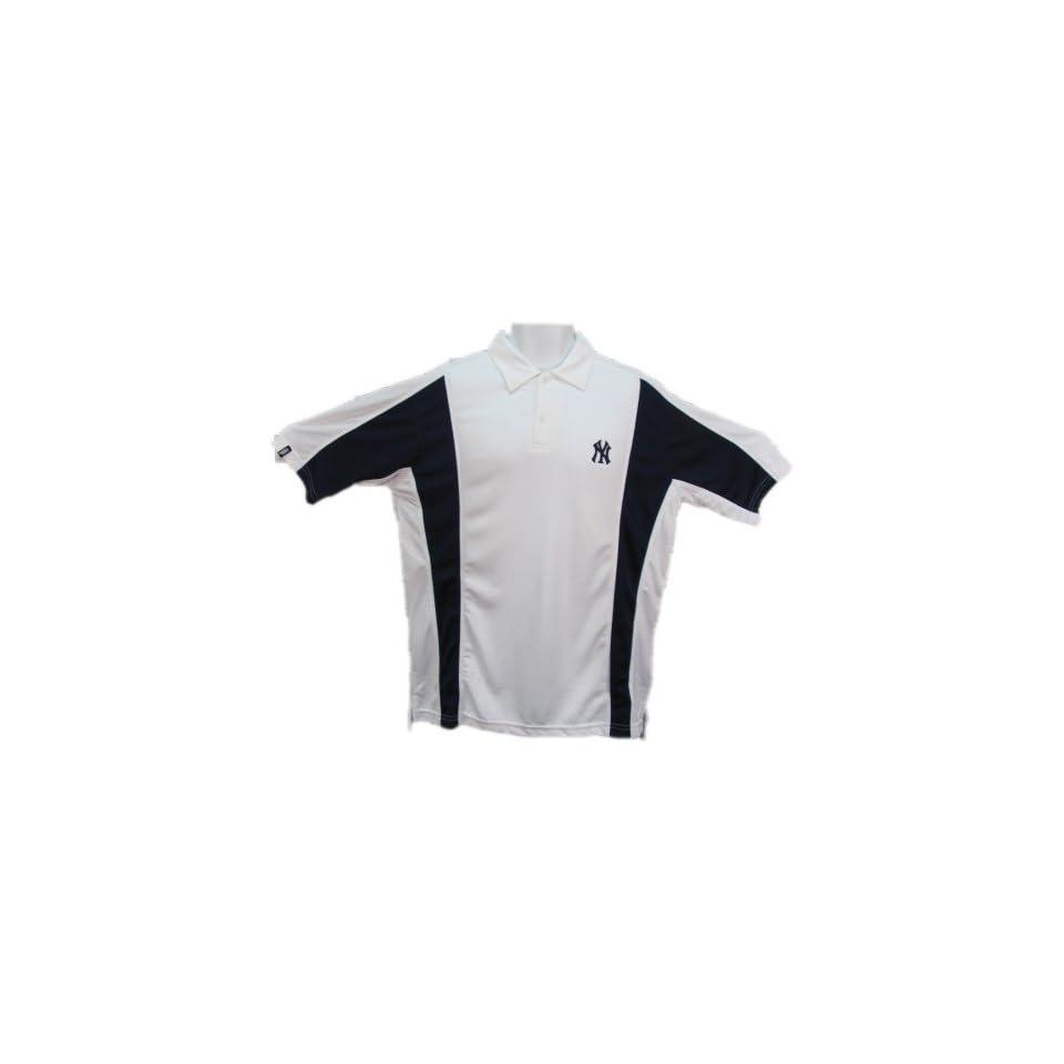 Yankees Polo Shirt   New York Yankees Vertical Polo by Antigua