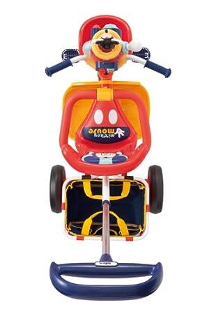 Amazon.com: Pop n carga triciclo de Mickey Mouse rojo ...