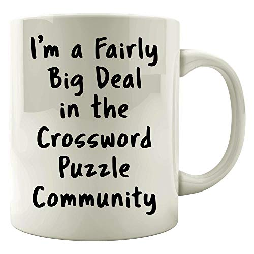 - Crossword Puzzle Big Deal Sarcastic Funny Saying Office Gift - Mug