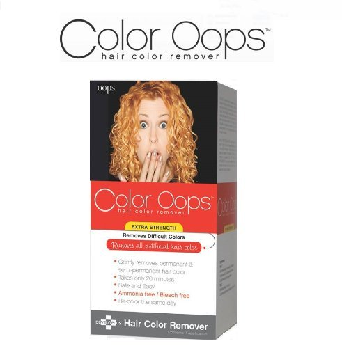 Color Oops Hair Color Remover Extra Strength by Developlus