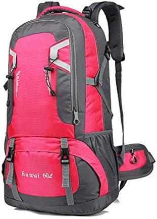 BAJIMI アウトドアハイキングキャンプ旅行オックスフォードマルチスポーツパックユニセックスバッグ/パウダー/ 40L用防水バックパック