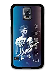 AMAF ? Accessories 5 Seconds of Summer Luke Hemmings Guitar and Lyrics case for Samsung Galaxy S5