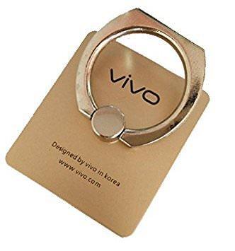 Vivo Y21L 360° Rotating Finger Ring Stand Holder  Golden