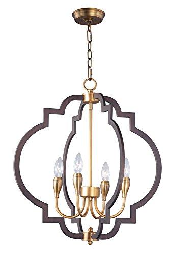 Maxim Lighting 20293OIAB Crest-Chandelier - Maxim Fan Brass Ceiling Lighting