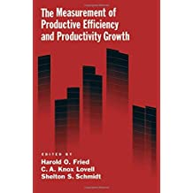 The Measurement of Productive Efficiency and Productivity Change