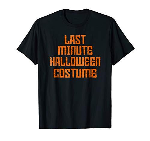 Last Minute Halloween Costume - Funny and Scarry -