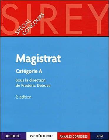Lire en ligne Magistrat : Catégorie A pdf ebook