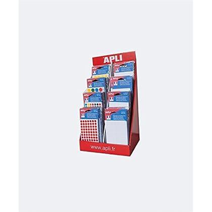Image of Apli 101460 160 Label Pockets, White and Colours Laminators