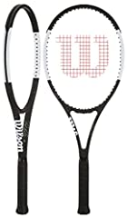 Roger Federer has once again partnered with Wilson to redesign the Pro Staff. The new Wilson Pro Staff RF 97 Autograph Tennis racquet is even better than before. Featuring the same head size and open string pattern (16x19) for added pop, forg...