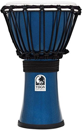 (Toca Freestyle Color Sound Djembe - Metallic Blue)