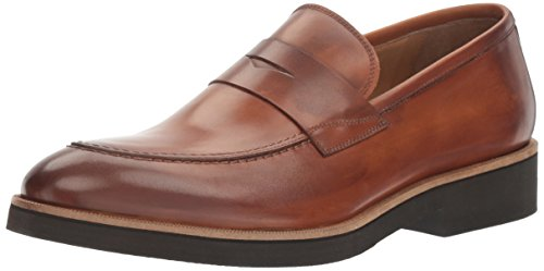 Gordon Rusa Mens Benjamin Öre Loafer Cuoio