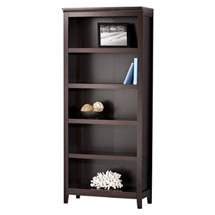Great Threshold Carson 5 Shelf Bookcase, Espresso