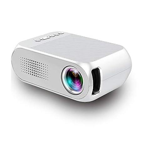 Qucking Light Proyector 1080P, Proyector De Bolsillo Proyector HD ...