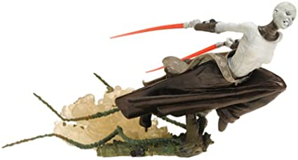 Star Wars Unleashed ASAJJ VENTRESS Hasbro New Loose