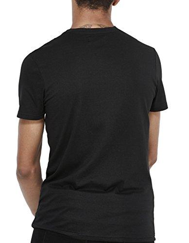 Noir Jeunity Celio Homme black shirt T I6xxAqzp1w