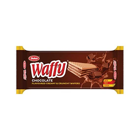 Dukes Waffy Biscuits Chocolate, 75g