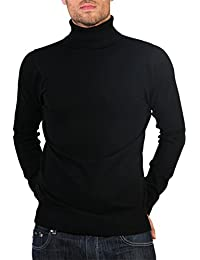 Mens Cotton Woollen Knitted Jumper All Season Pullover Casual Sweater