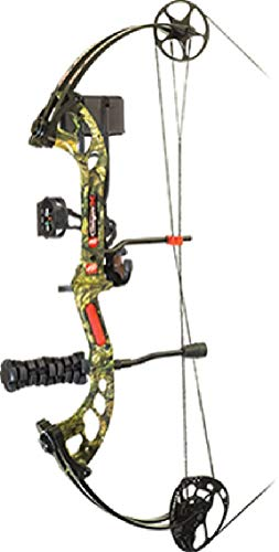(New 2018 PSE Stinger EXT Compound Bow RTS Left Hand 70# Mossy Oak Country)