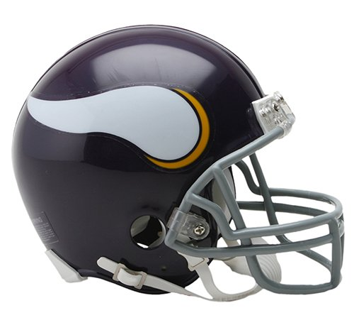Minnesota Vikings 1961-79 Throwback NFL Riddell Replica Mini Helmet
