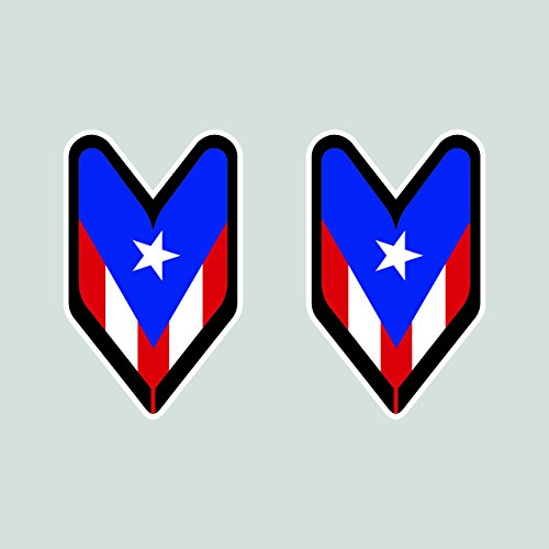 Driver Badge Sticker FA Graphix Die Cut Decal wakaba Rican PR leaf soshinoya ()