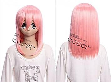 Kawaii-Story W DE 02 DE BC25 Rosa 40 cm Cosplay Peluca Wig Perruque Pelo