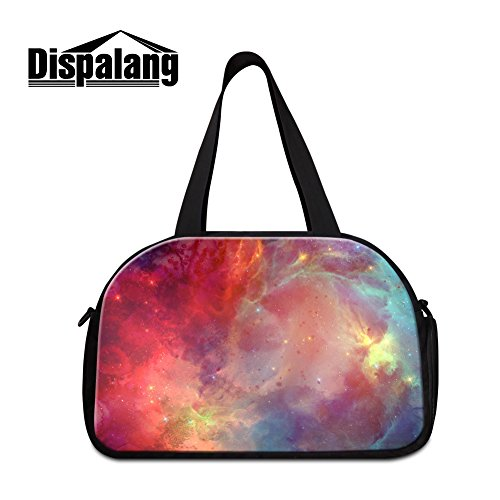 Generic Galaxy Printed Shoulder Gym Bags for Women Personalized Sports Duffle Bag for Men Review