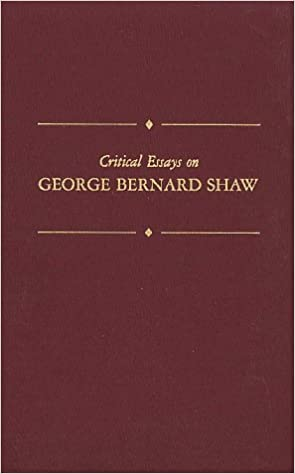 English Essay Topics Critical Essays On George Bernard Shaw Critical Essays On British  Literature Topics For English Essays also Population Essay In English Amazoncom Critical Essays On George Bernard Shaw Critical Essays  English Essay Topics For Students