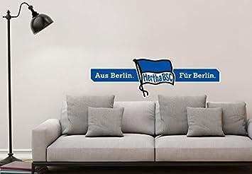 Wandtattoo - Hertha BSC Logo Aus Berlin - Für Berlin - 100x30 cm ...