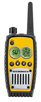 Hummer HUM1200Y 7-Mile 22-Channel FRS/GMRS Two-Way Radio by Conair