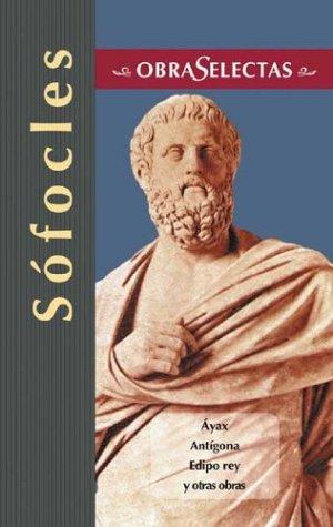 Obras selectassofocles (Inglés) Tapa dura – abr 2004 Edimat Libros 8484037053 Ancient & Classical Classical & Medieval