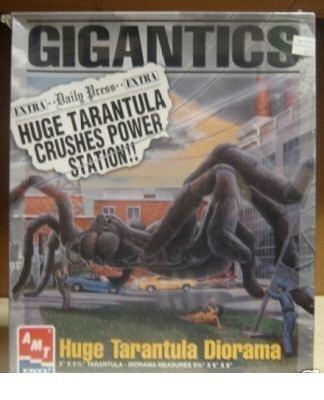 Gigantics Huge Tarantula Diorama Model Kit (Plastic Kit Model Vintage)