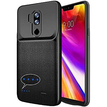 new concept b5751 52aec Amazon.com: NEWDERY LG V30 Battery Case, 4200mAh Slim Wireless ...