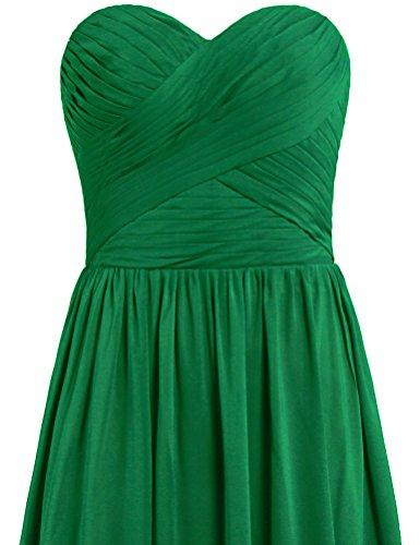 Robe Longue Robes De Demoiselle D'honneur Pour Vert Fête De Mariage De Fourmis Femmes
