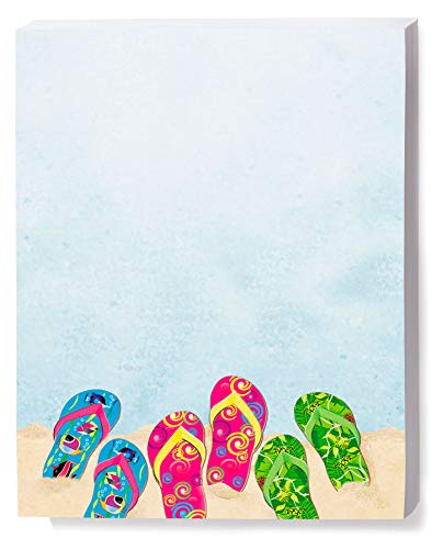 Baja Flip Flop Border Papers, 8.5 x 11 Inch, 24lb Stock, 100 Count