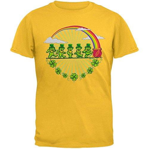 Old Glory Grateful Dead - Leprechaun Bears Daisy Youth T-Shirt - Youth Large