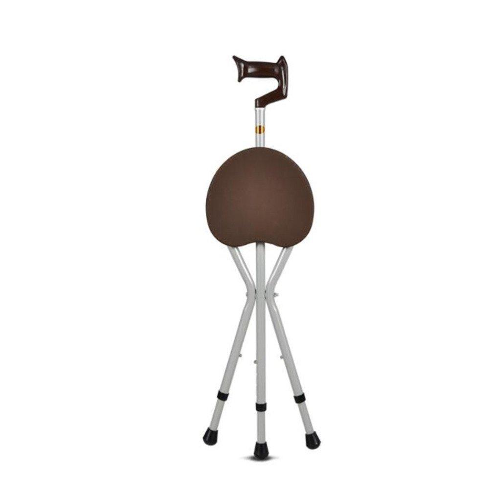 100%の保証 dsfghe three-legged dsfghe Stool Old Old Man 's Walking Stickスツール椅子折りたたみウォーカーwith A crutches Seniors 3つ脚 07230 B07DFC95ZK A, グリーンコンシューマー:e2b4f53e --- a0267596.xsph.ru