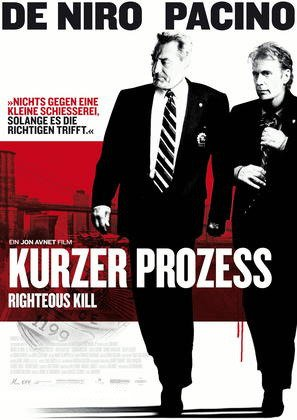 Kurzer Prozess - Righteous Kill Film