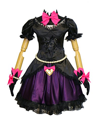 Wish Costume Shop Dva Cosplay Black Cat Dress Halloween Song Hana Costume (XL, Black) ()