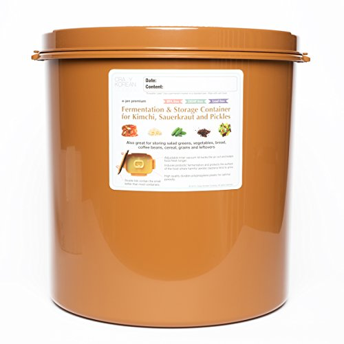 Fermentation and Storage Container